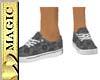Black Lace Tennis Shoes