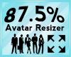 Avatar Scaler 87.5%