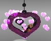 heart particle + pose