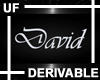 UF Derivable David Sign