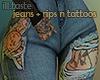 ill. tattoo jeans | RL