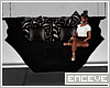 ENC. MOD HANGING COUCH