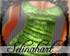 *S*Sequined Green Tank