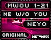 MWOU Me Without You Neyo