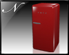 NR™Retro Fridge Red