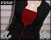 ⚓ | Jacket Black/Red