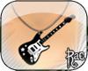 R| Elec. Guitar Necklace