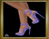 (AL)Buckle Heels Blue