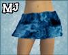 (T)bluepattern skirt