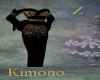 Kimono Black Gold