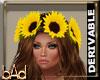 DRV Sunflower Headband
