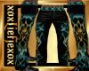 [L] SKULL AquaGold Pants