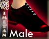 (MI) Elegant red shoe