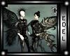 [E] dark moth wings
