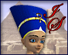 Blue Egyptian Headdress