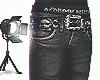 Chrome Jeans w BELT