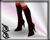 !SS Black & Red Boots
