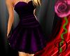 [D] Purple Classy Dress