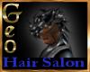 Geoo Mohawk Black Silver