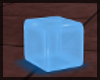Neon Blue Seating Cube