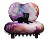 Black Kitten Cuddle Spot