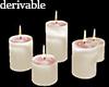 MDX MeltedWAX candles