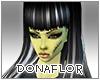 *Dona*Zombie Hair Black