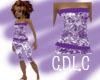 C.D.L.C PurpleScrtchzTop