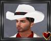 White CowBro Hat