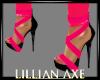 [la] Hot pink neon shoes