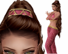 Harem Genie Hat Pink