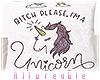 A* Unicorn Pillow