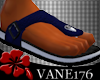 [V1] Leather Sandals BL