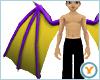 Fld Dragon Wings: PrpYlw