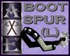 X Boot Spur (Left)