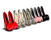 5 Pair Closet Heels
