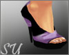 *SU* PURPLES SHOES NEW
