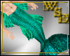 Merman Aquamarine Tail