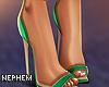 NP. Green Lady Heels