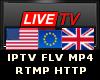 Live TV +24 USA UK EU
