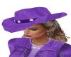 Purple Cowgirl Hat