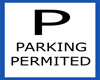 Parking Permited Sign