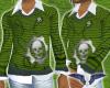 Gears Green Sweater