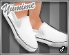 [Y] Slip-on shoes White