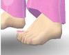 Pink Promises pedicure