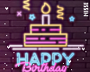 n| Neon Birthday Sign