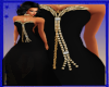 PC] Black Sexy Gown Gold