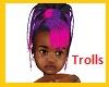 Kids Trolls Party Hair