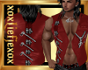 [L] Zipper Red Vest M
