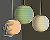 -E- Paper Lanterns